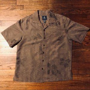 Caribbean Joe men's Hawaiian shirt size medium